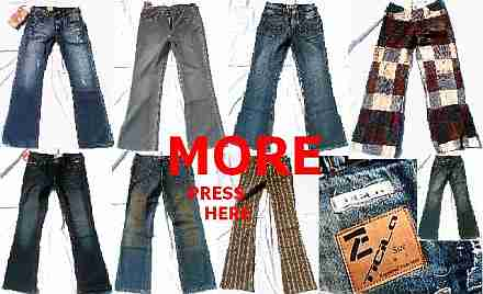VARIOUS MEN & WOMAN JEANS