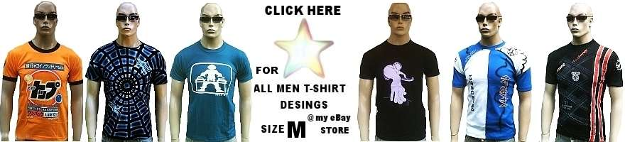 MEN T-SHIRT'S SIZE M