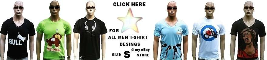 MEN T-SHIRT'S SIZE S