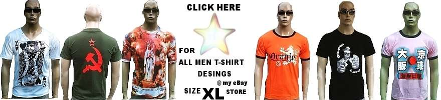 MEN T-SHIRT'S SIZE XL