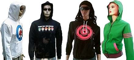 TRAININGSJACKETS &amp; HOODIES